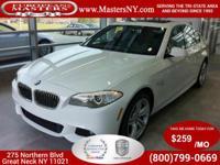 This Beautiful White 2013 BMW 535XI xDrive Sedan Comes