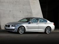 This 2013 BMW 5 Series has an original MSRP of