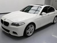 This awesome 2013 BMW 5-Series comes loaded with the