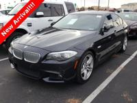 2013 BMW 5 Series 550i Carbon Black Metallic. Why pay