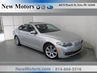 New Motors is excited to offer this 2013 BMW 5 Series.