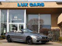 ONE OWNER SUPER CLEAN 2013 BMW 640i CONVERTIBLE