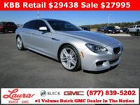 Recent Trade! 640i Gran Coupe 3.0 Twin Turbo RWD.