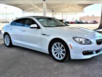 We are excited to offer this 2013 BMW 6 Series. Drive