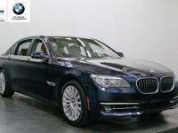 740Li trim. CARFAX 1-Owner, BMW Certified, Excellent