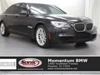 Boasts 28 Highway MPG and 19 City MPG! This BMW 7