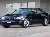 This 2013 BMW 7 Series has an original MSRP of