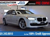 Alpine White 2013 BMW 7 Series 750i xDrive AWD 8-Speed