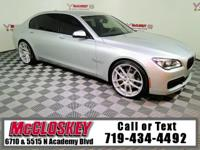 445 Horsepower luxurious 2013 BMW 750Li w/ Navigation,