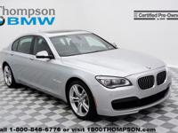 Familiarize yourself with the 2013 BMW 750Li! This car