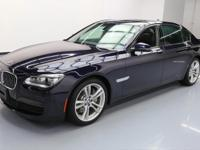 2013 BMW 7-Series with M Sport,Executive Package,4.4L