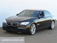 750Li trim. CARFAX 1-Owner, GREAT MILES 35,811!