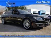 2013 BMW 7 Series 760Li, CLEAN CARFAX, NAVIGATION,