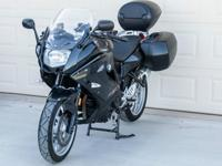 2013 BMW F 800 GT in excellent condition with 1100