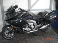 2013 BMW K1600GT in Dark Graphite metallic. This bike