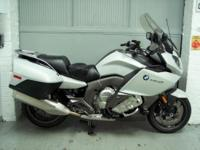 2013 BMW K1600GT lite white with only 4789. This bike