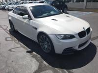 Recent Arrival! 2013 Mineral White Metallic BMW M3 *