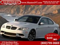 This Incredible White 2013 BMW M3 Coupe Comes Equipped