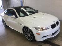 M3 Coupe trim. CARFAX 1-Owner, BMW Certified, Superb