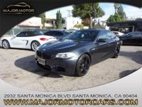 This 2013 BMW M5 is proudly offered by Major Motor Cars