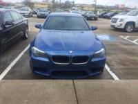 We are excited to offer this 2013 BMW M5. This BMW