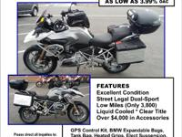 2013 BMW R 1200 GS This bike is LOADED w/ over $4000