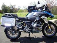 2013 BMW1200GS loaded with factory options, low, low