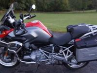 VERY NICE 2013 BMW R1200 GS, Lo Miles, this is the low