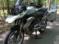 2013 BMW R1200GSW (Water Cooled) -The Bike is equipped