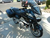 2013 BMW R1200RT heated grips and seats, cruise