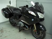 2013 BMW R1200RT, Black, 90th anniversary editon with