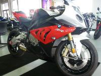 The BMW S1000RR has a 999cc four cylinder, four stroke