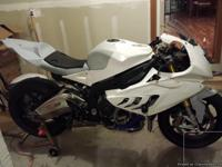 2013 S1000RR HP4.  This bike is a track weapon