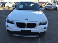 Options:  2013 Bmw X1 Sdrive28i 4Dr Suv|White|2-Stage
