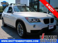 CARFAX One-Owner. Clean CARFAX. White 2013 BMW X1