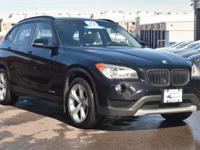 CARFAX One-Owner. Jet Black 2013 BMW X1 xDrive35i AWD