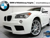 This BMW X1 delivers a Turbocharged Gas I6 3.0L/182