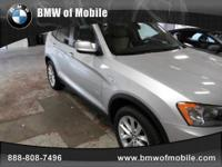 BMW of Mobile presents this 2013 BMW X3 AWD 4DR 28I