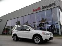 CARFAX One-Owner. Alpine White 2013 BMW X3 xDrive28i