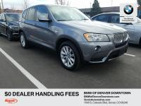 Take command of the road in the 2013 BMW X3 xDrive28i!