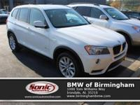 This 2013 BMW X3 xDrive28i AWD comes complete with