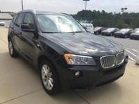 We are excited to offer this 2013 BMW X3. This BMW