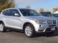 This 2013 BMW X3 xDrive28i comes with Black Leather
