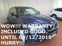 WOW!!! WARRANTY INCLUDED UNTIL 09/12/2018 OR 100,000