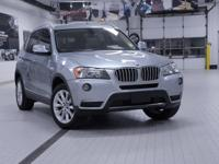2013 BMW X3 xDrive28i Blue Water Metallic Extended