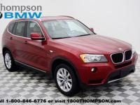 Outstanding design defines the 2013 BMW X3 xDrive28i! A
