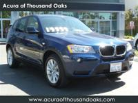 Options:  2013 Bmw X3 Xdrive28i|Glacier Silver