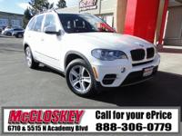 ONE OWNER!! This 2013 BMW X5 xDrive35i comes with All