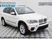 Climb inside the 2013 BMW X5 xDrive35i Premium! This is