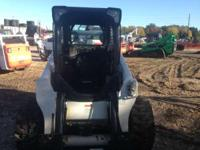 2013 Bobcat S650 Low hour community trade in the new